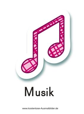 Piktogramme Musik - Piktogramm-Musik Schule