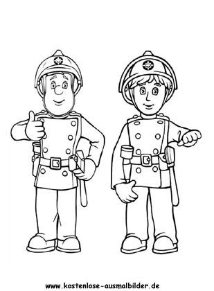 feuerwehrmann sam - tv ausmalen | malvorlagen feuerwehrmann sam
