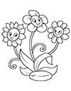 Ausmalbilder Gänseblümchen