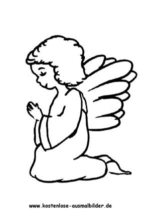 Weihnachtsengel Zum Ausmalen Engel Ausmalen Malvorlagen Engel