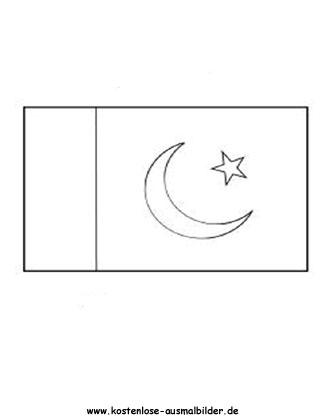 Fein Malvorlagen Pakistan Flagge Ideen - Framing Malvorlagen ...