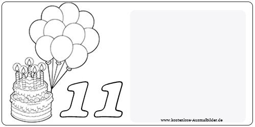 Ausmalbilder Kostenlos Zum Geburtstag | New Calendar Template Site
