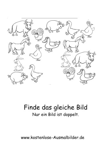 Schön Tier Malvorlagen Vorschule Ideen - Ideen färben - blsbooks.com
