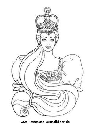 Malvorlagen Prinzessin Mit Krone | My blog