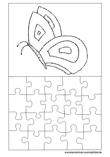 ausmalbilder puzzle vorlage  ausmalbild puzzle vorlage