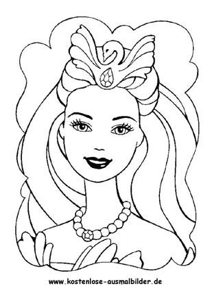 Ausmalbilder Barbie Ausmalbild Ausmalbild Barbie 2