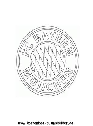 Ausmalbilder Malvorlagen Fc Bayern Muenchen