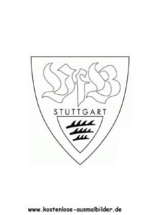 Ausmalbilder Malvorlagen Vfb Stuttgart