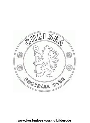 Ausmalbilder Malvorlagen Fc Chelsea