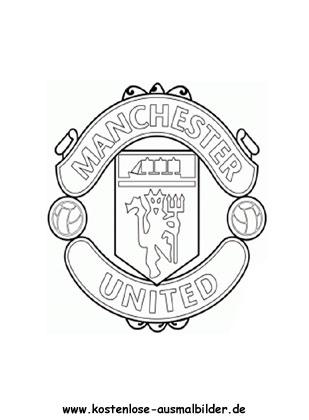 Ausmalbilder Malvorlagen Manchester United