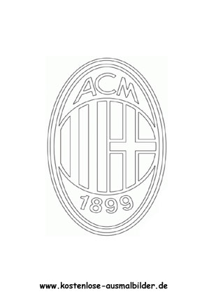 Ausmalbilder Malvorlagen Ac Mailand
