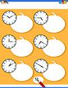 Arbeitsblatt Uhr lesen