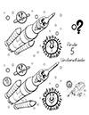 Arbeitsblatt Suchbild Rakete