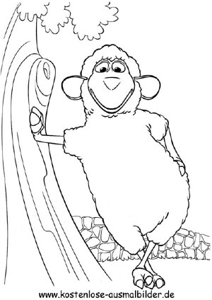 Au Schwarte Willy - fernsehen ausmalen | Malvorlagen Au Schwarte
