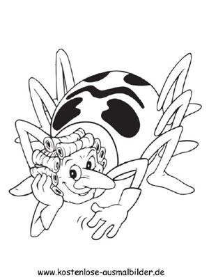 Ausmalbilder Malvorlagen Biene Maja Biene Maja 4