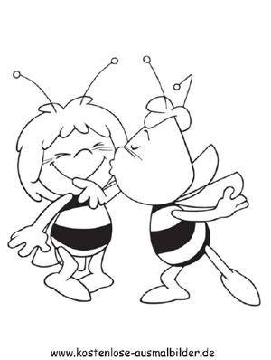 Ausmalbilder Biene Maja
