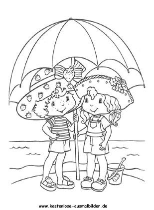 Sonnenschirm Malvorlage sdatec.com