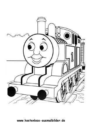 Ausmalbilder Thomas die Lokomotive Ausmalbild 1 - fernsehen zum ...