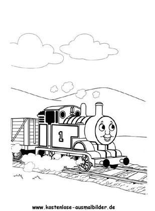 ausmalbilder thomas die kleine lokomotive | ausmalbild
