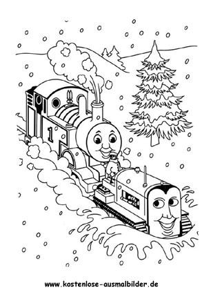 Thomas und Terence Ausmalbild - fernsehen ausmalen | Malvorlagen ...
