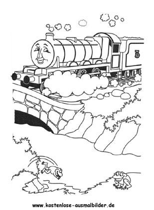 Ausgezeichnet Thomas Der Panzermotor Malvorlagen James ...
