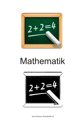 Piktogramm Mathematik