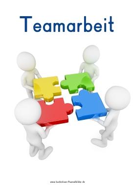 Piktogramm Teamarbeit
