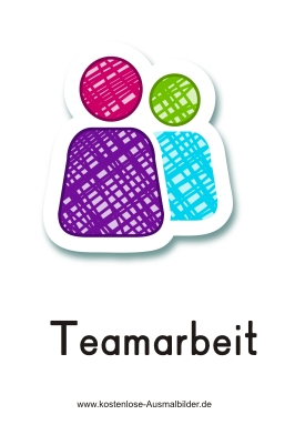 Piktogramm Teamarbeit Piktogramm